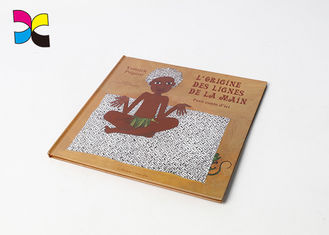 Customized Hardcover Book Printing With Kraft Paper 200gsm 250gsm 300gsm