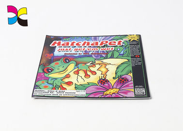 Eco - Friendly Pretty House Magazine With Perfect Binding / Flexor Printing