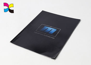China Paperback Business Brochure Printing , Glossy Lamination Cover Digital Printing Brochure factory