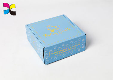 Custom Size Printed Paper Gift Packing Box For Costume / Dress / Shoes