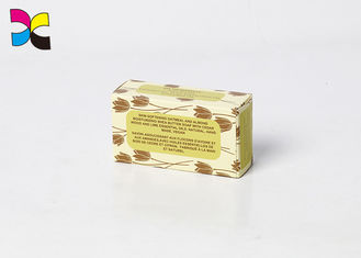 China Flocking Printed Cardboard Boxes Open Two Side Matte Soap Rectangle Toothpaste factory