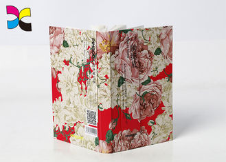 White Card Paper Printed Journal Books Sewing And Edition Binding