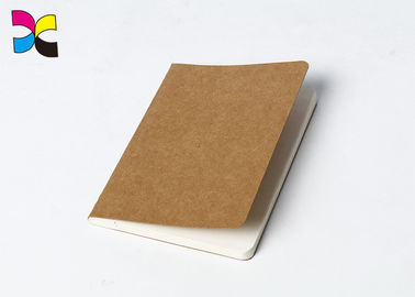 China Kraft Paper Cover A5 / A6 Brochure Printing Service With Sewing Binding factory