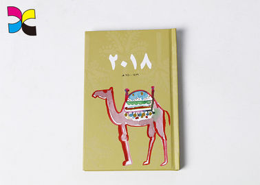 A5 Size Hardcover Custom Printed Notebooks / Promotional Journals Notebooks