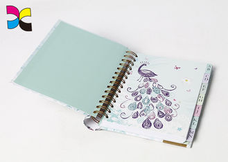 China Eco - Friendly Custom Cover Wire - O Spiral Notebook Printing For Office & School factory
