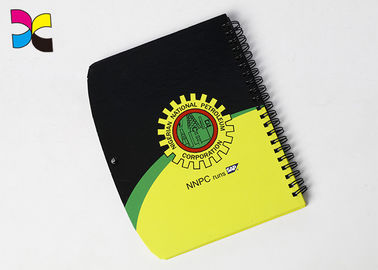 China Hardcover A4 A5 Spiral Notebook Printing With Colorful Wire Binding factory
