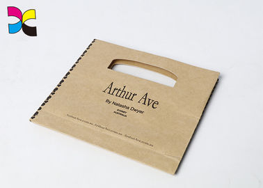 OEM Offset Printed Paper Bags / Personalized Paper Gift Bags With Handles