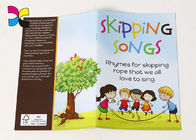 Saddle Stitching CMYK Color Children'S Book Printing , Softcover Self Publish Kids Book supplier