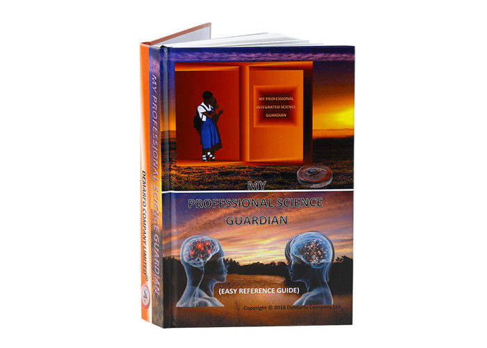 OEM A4 Printing Hardcover Books Printing , Glossy Lamination Book Printing Services supplier