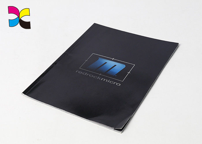 Paperback Business Brochure Printing , Glossy Lamination Cover Digital Printing Brochure supplier
