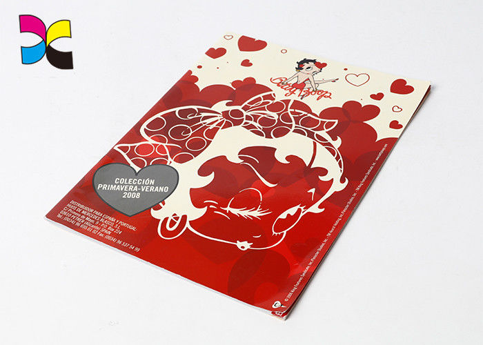 Full Color Red Custom Magazine Printing Subscription For People Perfect Binding supplier
