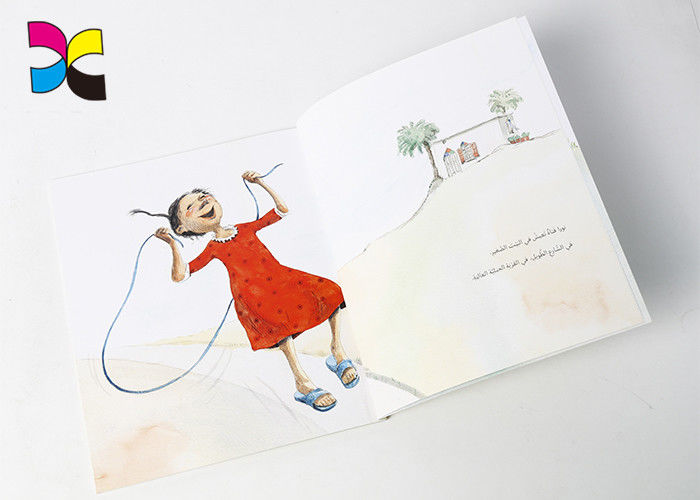 CMYK Color 3 - 5 Years Old Children Book Printing Service For 20 Years supplier