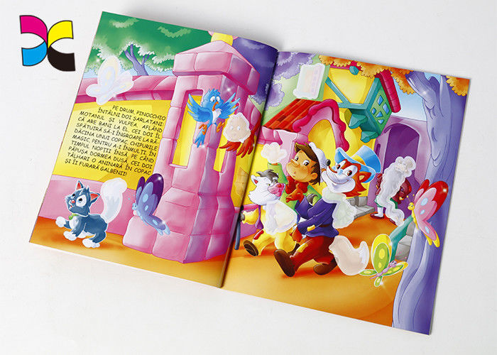 Environment - Friendly Paperback Book Printing Inner Sheet 100g Offset Paper 4+4C supplier