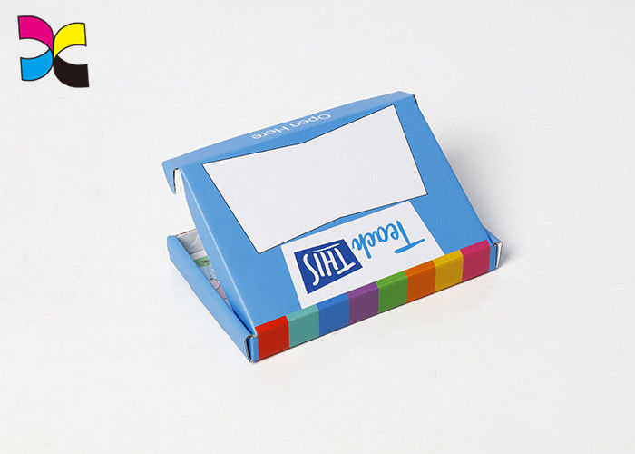 Rectangle Super Market Decorative Shipping Boxes With Glossy Or Matt Lamination supplier