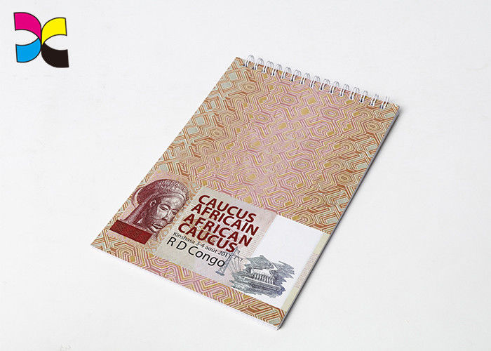 Recycled Exercise Spiral Notebook Printing Art Paper Cardboard Cover Lamination supplier