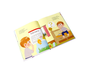 Children Story Color Hardcover Book Printing Cardboard Customized Lamination