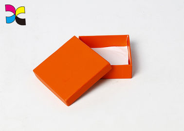 Full One Color Printing Square Cardboard Box With With Lid And Base OEM ODM