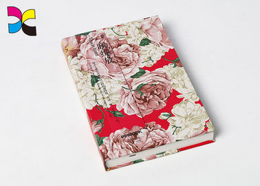 Fashional Office Custom Made Sewing Binding Notebooks With Ribbon , Headband