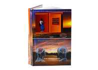 OEM A4 Printing Hardcover Books Printing , Glossy Lamination Book Printing Services