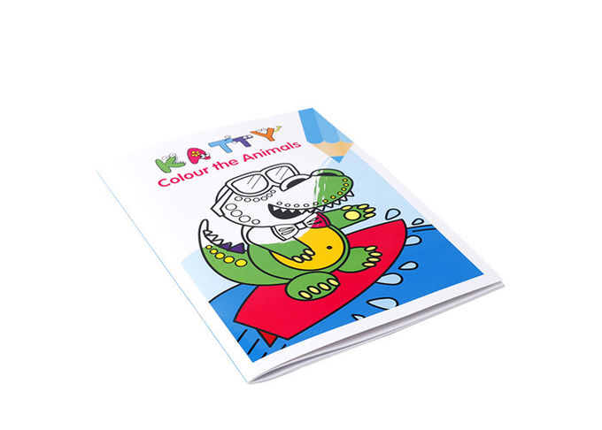 CMYK Color 3 - 5 Years Old Children Book Printing Service For 20 Years