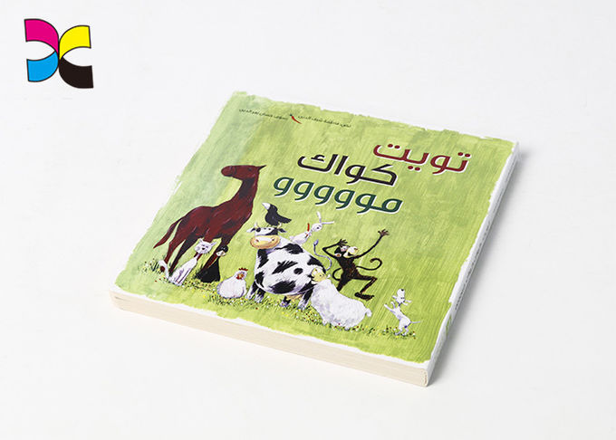 Colorful School Children'S Book Printing And Binding With Round Corner Lamination Outside