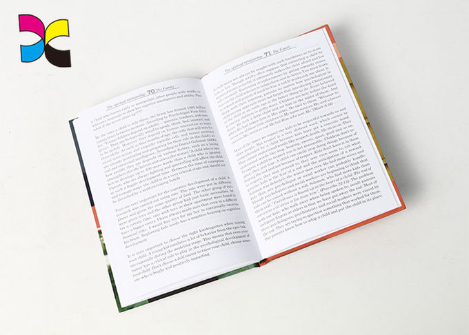 One Or Double Sides Hardcover Book Printing With Glossy / Matt Lamination