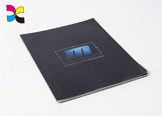 Paperback Business Brochure Printing , Glossy Lamination Cover Digital Printing Brochure