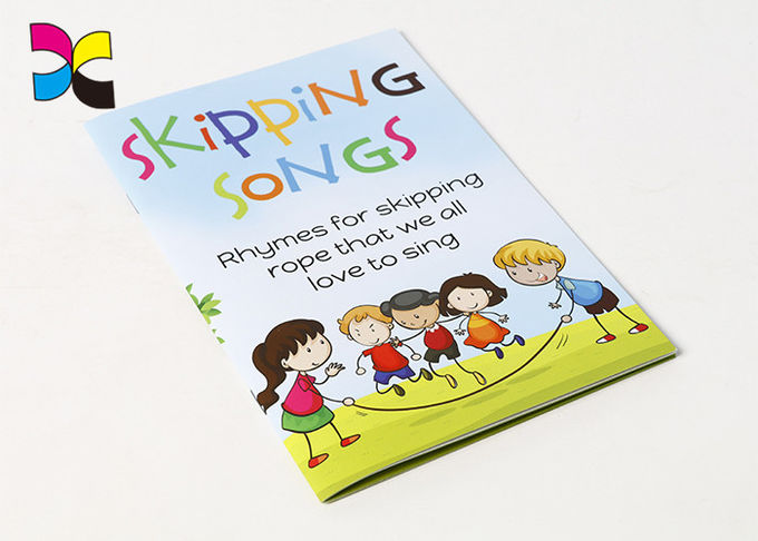 Saddle Stitching CMYK Color Children'S Book Printing , Softcover Self Publish Kids Book