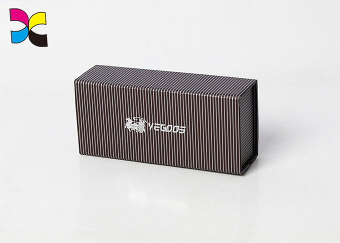 Environmental Friendly Printed Cardboard Boxes With Logo / Paper Tea Box