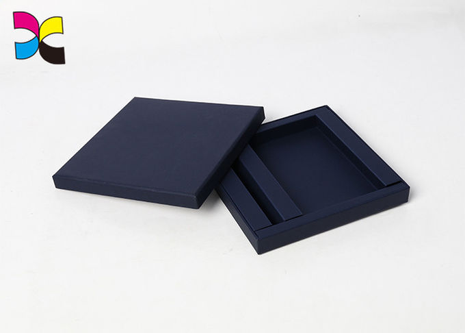 Full Black Color Product Packaging Boxes , Fancy Paper OEM Personalized Gift Box