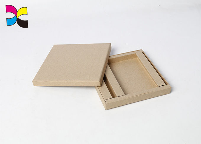 Customized Paper Cardboard Flat Folding Gift Box Recycled Eco - Friendly