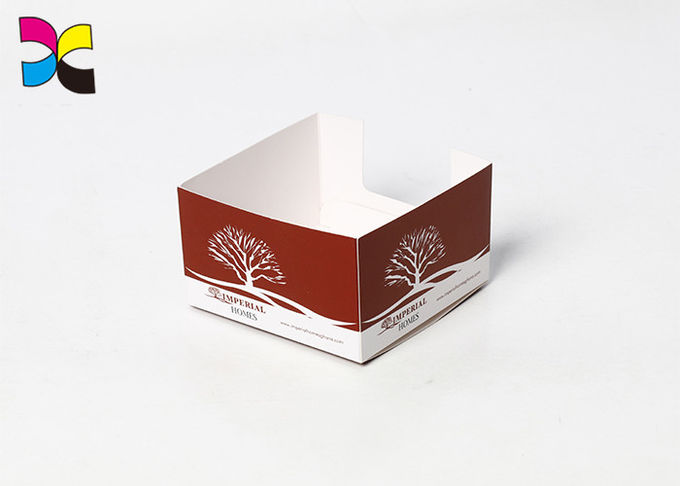 Display Tray Custom Printed Packaging Boxes , Eat Holding Paper Packing Box